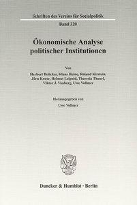 Ökonomische Analyse politischer Institutionen
