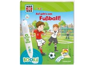 Bookii WAS IST WAS Junior Auf geht\'s zum Fußball!