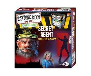 Noris 606101776 - Escape Room, Erweiterung Secret Agent, Nur mit