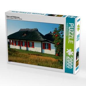 Haus auf Hiddensee 2000 Teile Puzzle quer