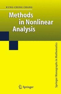 Methods in Nonlinear Analysis