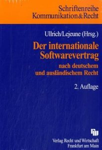 Der internationale Softwarevertrag