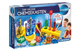 Clementoni Galileo Der große Chemiekasten