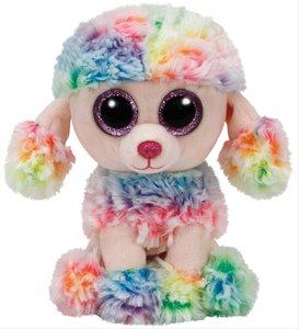 GL Rainbow-Pudel multicolor, ca. 15cm