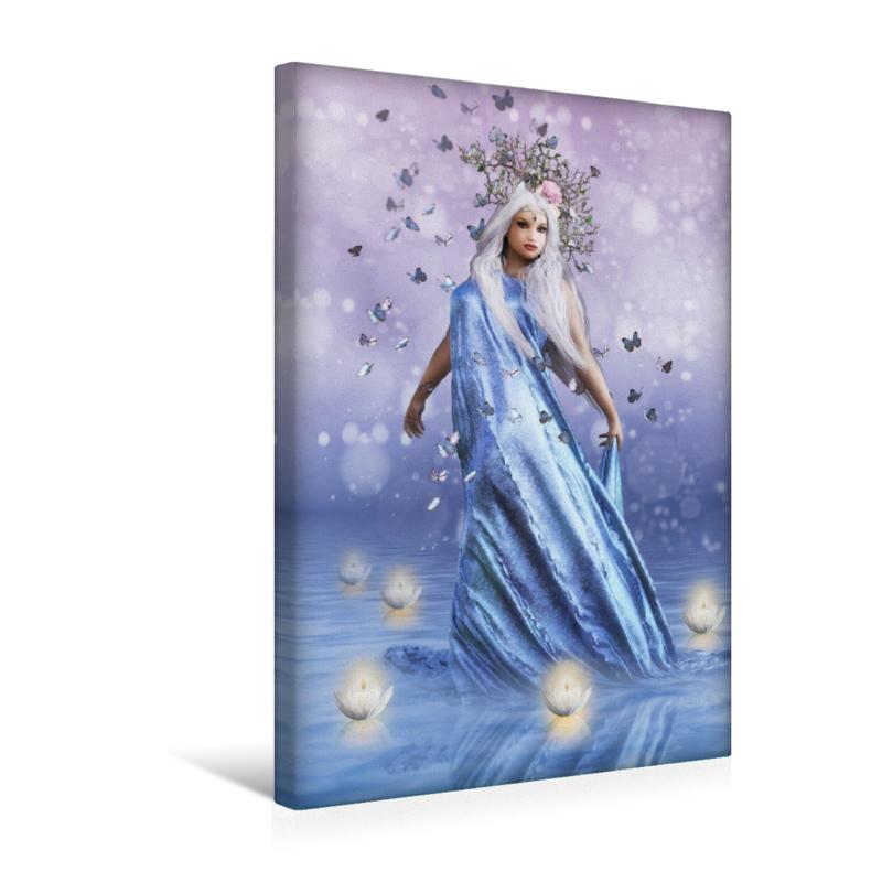 Premium Textil-Leinwand 30 cm x 45 cm hoch Wassermagie - zum Schließen ins Bild klicken