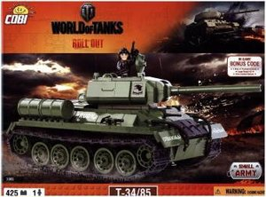 World of Tanks - Bausatz T34/85
