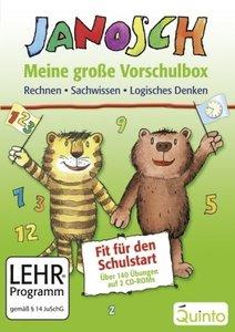 Janosch-Meine grosse Vorschulbox: Mathe+Sachwissen