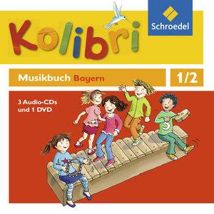 Kolibri: Das Musikbuch 1 / 2. Hörbeispiele und Tanz-DVD. Grundsc