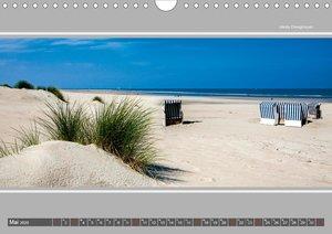 Strandblicke Borkum und Norderney (Wandkalender 2020 DIN A4 quer