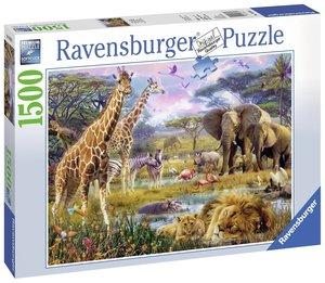 Ravensburger Puzzle 16333 - Buntes Afrika - 1500 Teile