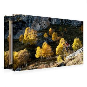 Premium Textil-Leinwand 75 cm x 50 cm quer Como/Italy,