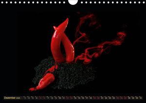 Scharfe Chili Fantasien - Creative Food Design (Wandkalender 202