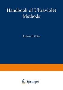 Handbook of Ultraviolet Methods