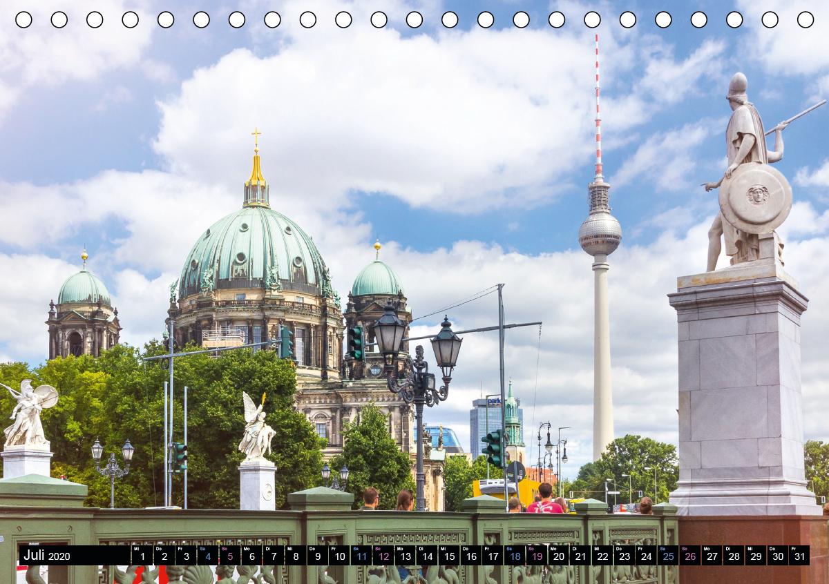 SOMMER IN BERLIN (Tischkalender 2020 DIN A5 quer) - zum Schließen ins Bild klicken
