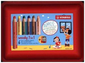 STABILO woody 3 in 1 Box