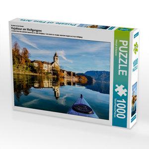 Ein Motiv aus dem Kalender Kajaktour am Wolfgangsee 1000 Teile P