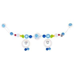 Kinderwagenkette Elefant, blau