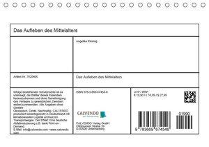 Das Aufleben des Mittelalters (Tischkalender 2019 DIN A5 quer)