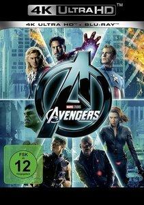Marvel\'s The Avengers 4K, 1 UHD-Blu-ray (Ungekürzte Fassung)