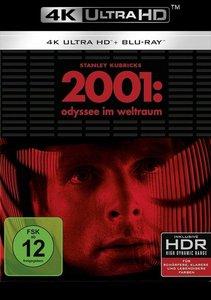 2001: Odyssee im Weltraum 4K, 2 UHD-Blu-ray + 1 Blu-ray