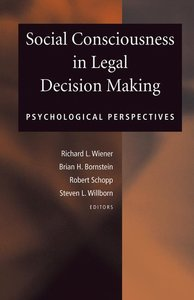 Social Consciousness in Legal Decision Making