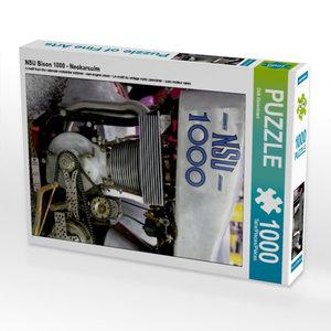 CALVENDO Puzzle NSU Bison 1000 - Neckarsulm 1000 Teile Lege-Größ