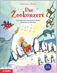 Das Zookonzert. Buch + CD