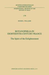Botanophilia in Eighteenth-Century France