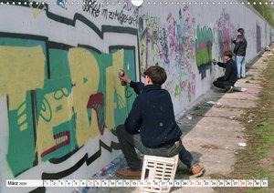 30 Jahre Mauerfall Berlin (Wandkalender 2020 DIN A3 quer)