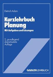 Kurzlehrbuch Planung