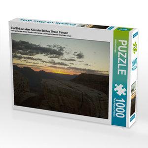 CALVENDO Puzzle Ein Bild aus dem Kalender Schöne Grand Canyon 10