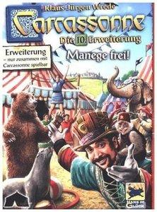 Schmidt Spiele Hans im Glück Carcassonne 10. Erweiterung Manege