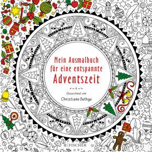 Mein Ausmalbuch für eine entspannte Adventszeit