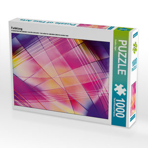 Farbklang 1000 Teile Puzzle quer