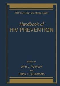 Handbook of HIV Prevention