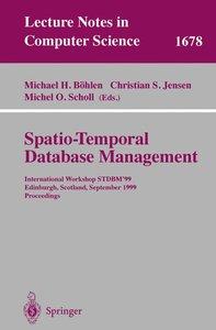 Spatio-Temporal Database Management
