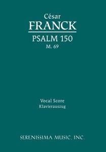 Psalm 150, M. 69 - Vocal Score