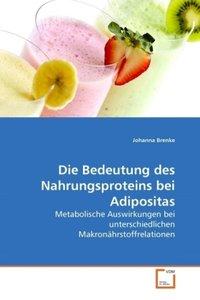 Die Bedeutung des Nahrungsproteins bei Adipositas