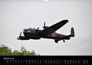 Military Aircraft (Wall Calendar 2020 DIN A3 Landscape)