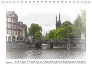 AMSTERDAM Erinnerungen (Tischkalender 2019 DIN A5 quer)