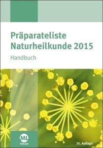 Präparateliste der Naturheilkunde 2015