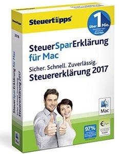 SteuerSparErklärung Mac 2018