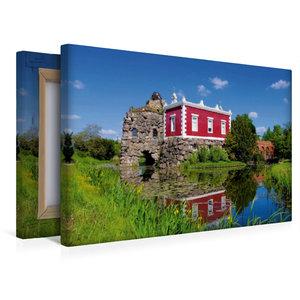 Premium Textil-Leinwand 45 cm x 30 cm quer Villa Hamilton