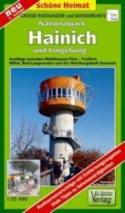 Nationalpark Hainich und Umgebung 1 : 35 000. Wander- und Radwan