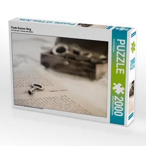 CALVENDO Puzzle Finde Deinen Weg 2000 Teile Lege-Größe 90 x 67 c