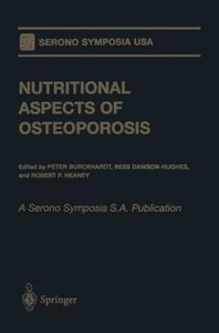 Nutritional Aspects of Osteoporosis