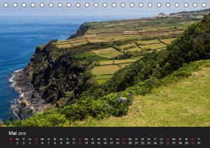 Faszination Azoren (Tischkalender 2019 DIN A5 quer)