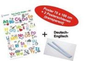Das bunte Kinder-ABC Deutsch/Englisch + Posterschienen