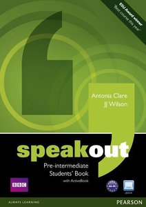 Speakout Pre-intermediate Students' Book (with DVD / Active Book
