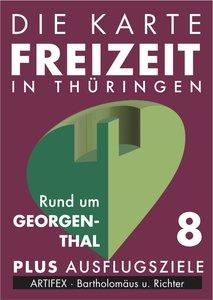 Die Karte - Freizeit in Thüringen 08. Rund um Georgenthal